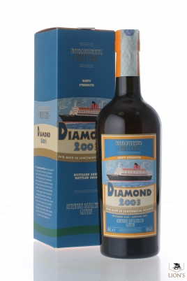 Rum Diamond 2003 57% Transcontinental