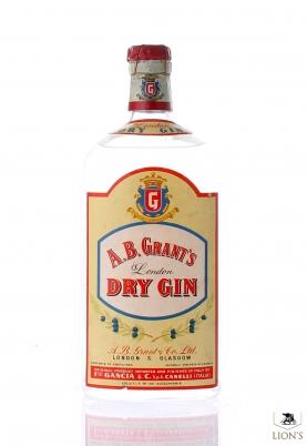 A.B. Grant's London Dry Gin Soring Cap