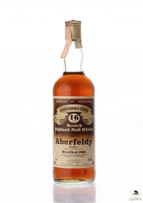 Aberfeldy 1966 16 Years Old  CC Brown Label Violi