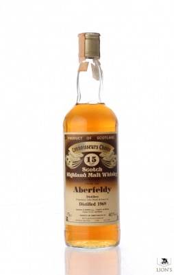 Aberfeldy 1969 15yo Connoisseurs Choice