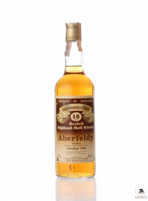 Aberfeldy 1969 16yo Connoisseurs Choice