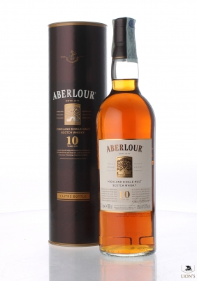 Aberlour 10 years old 1litre  in tube