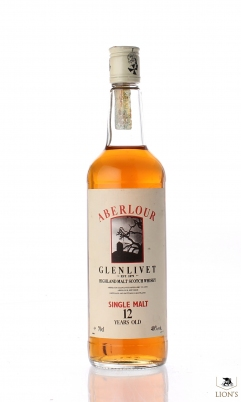 Aberlour 12 years old Tree Lable