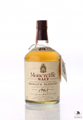 Aberlour 1963 23 years old Moncreiffe