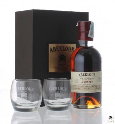 Aberlour A'bunadh batch #47 gift pack