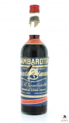 Amaro Gambarotta 1 litre 34% 1950's