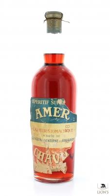 Amer Aperitif Liqueur Stomachique B1958