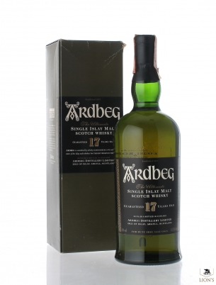 Ardbeg 17 Years Old 1 Litre 43% Duty Free