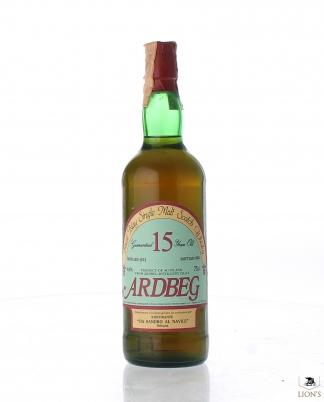 Ardbeg 1973 15 years old Bottled for Sandro al Navile