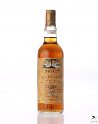 Ardbeg 1990 Spirit of Scotland High Spirits