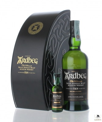 Ardbeg 10 years old + mini Exploration Pack