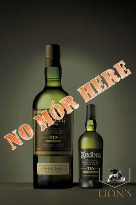 Ardbeg MOR First Edition 10 years old 57.3% 4.5 Litres