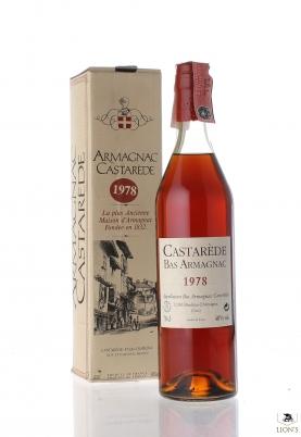 Armagnac Castarede 1978 40% 70cl box