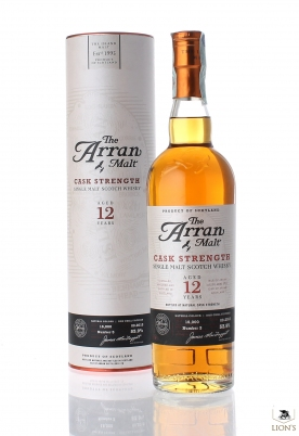 Arran 12 years old Cask Strenght 53.9%