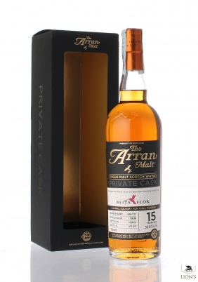 Arran 1998 15 years old 55.9%  for Beija Flor