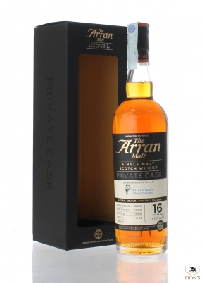 Arran 2000 16 years old 57.1% Silver Seal