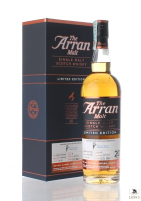 Arran 1996 20 years old 51.2% Silver Seal