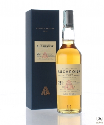 Auchroisk 25 years old 51.2% 70cl 3954bottles B2016