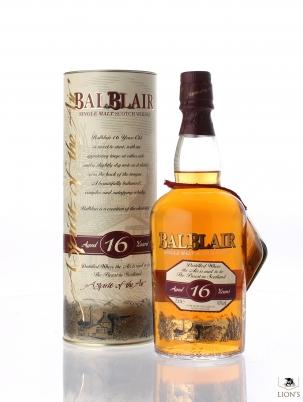 Balblair 16 Years Old Spirit of the Air