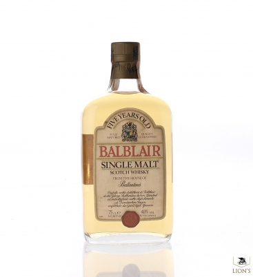 Balblair 5 years old 75cl