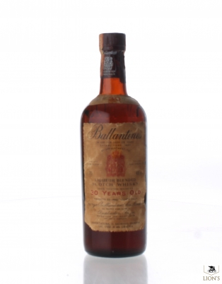 Ballantines 30 years old B1960s