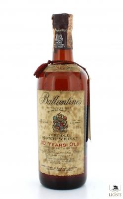 Ballantines 30 Years Old B1972 43% 75cl 600 Bottles Bottle N.5