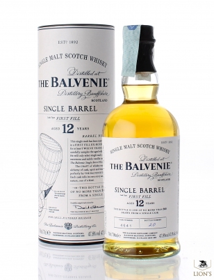 Balvenie 12 years old cask 4641 first fill