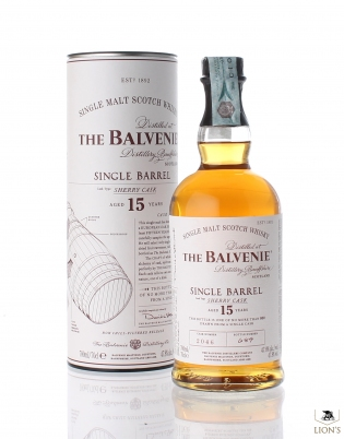 Balvenie 15 years Single barrel sherry cask 2046