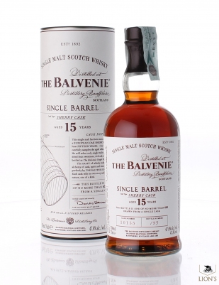 Balvenie 15 years old sherry cask 10155