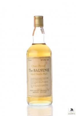 Balvenie 1975 57.5% B1985 Robert Watson