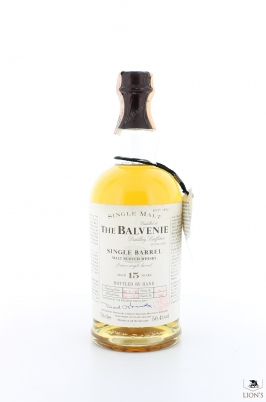 Balvenie 1982 15 years old B 1998 cask 129 50.4%