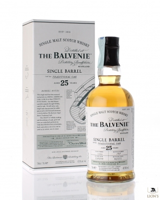 Balvenie 1989 25 years old 47.8% traditional oak