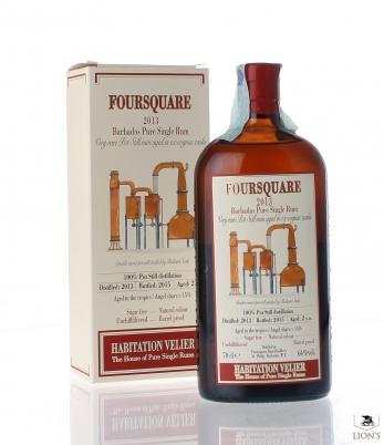 Barbados Foursquare Rum 2013 64% Habitation Velier