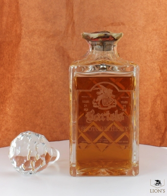 Bartels 21 years old 43% 75cl decanter