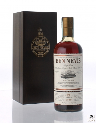 Ben Nevis 1990 21 years old 59.8%