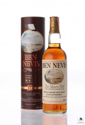 Ben Nevis Ten years old