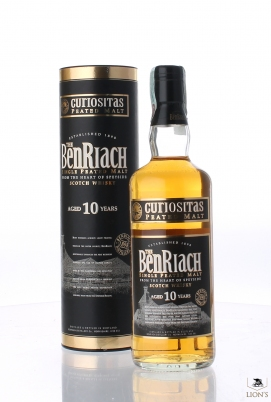 Benriach 10 years old Curiositas Peated Malt