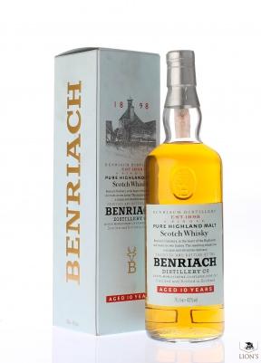 Benriach 10yo scatola bianca 70 cl