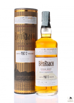 Benriach 1977 31 years old 51.3%