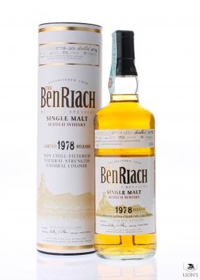 Benriach 1978 28 years old 54%