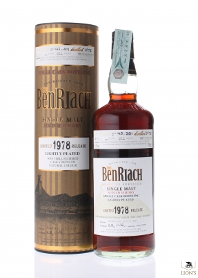 Benriach 1978 29 years old 52.2%