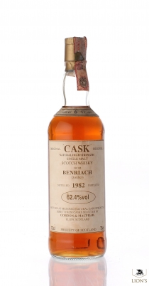 Benriach 1982 6 years old 62.4% G&M CASK