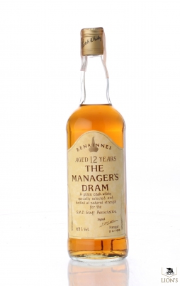 Benrinnes 12 years old 63%  Manager's Dram