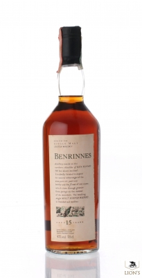 Benrinnes 15 Years Old Flora & Fauna