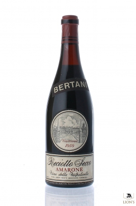 Bertani Amarone 1959
