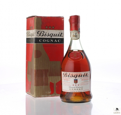 Cognac Bisquit Ricard 3 star 75cl Red box
