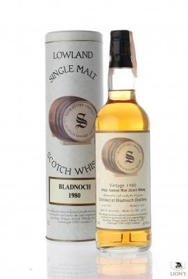 Bladnoch 1980 16 years old Signatory