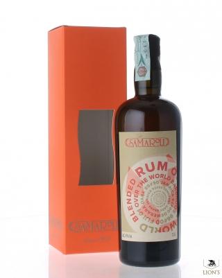 Blended rum Over the World Samaroli