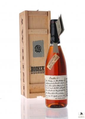 Bourbon Booker's 62.45%