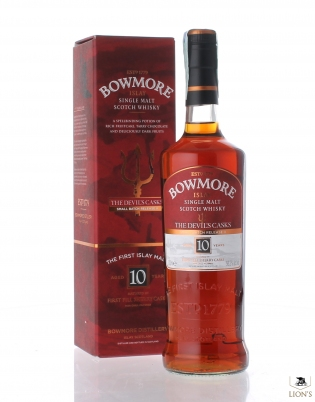 Bowmore 10 years old 56.3% The Devil's Casks